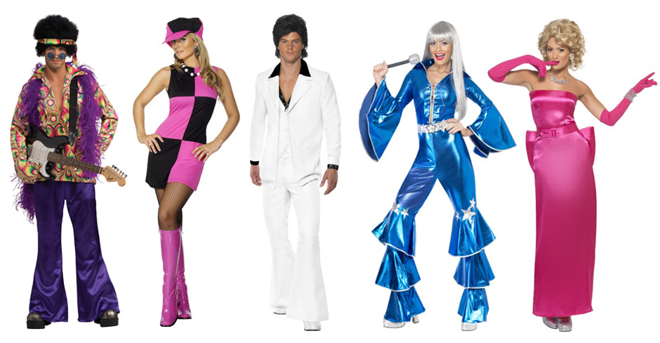 60s 70s 80s Reflections Fancy Dress Costumes Oxford Bicester